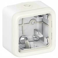 Одноместная коробка для накладного монтажа, белый - Legrand Plexo IP55–IK07