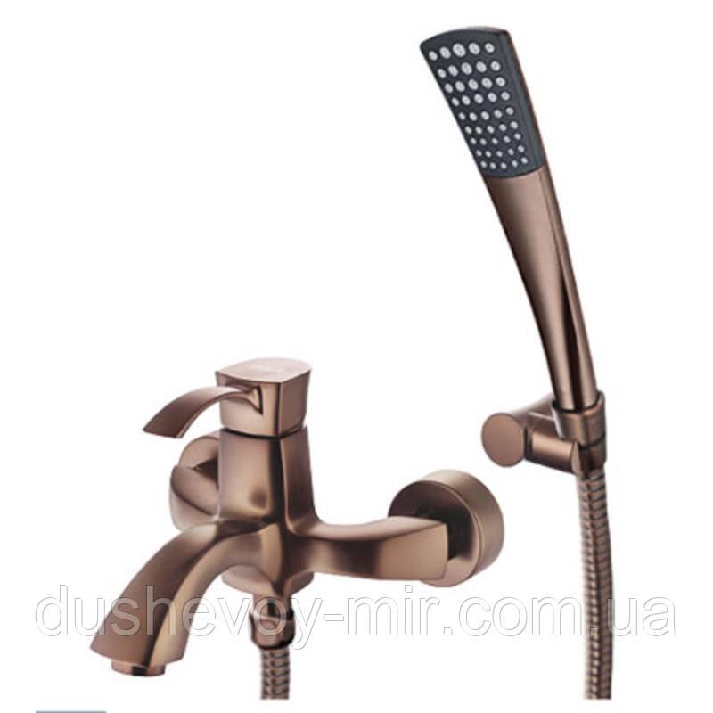 """Смеситель Welle """"Odelia"""" для ванны и душа BE23202RC-H21155-CN1303"""