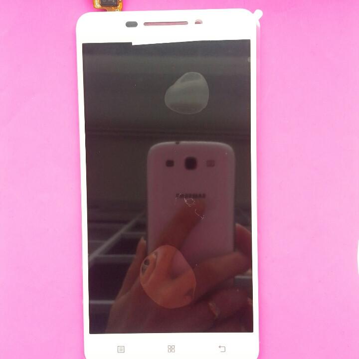 Дисплей для Lenovo A5000 білий, з тачскріном TTCT050231