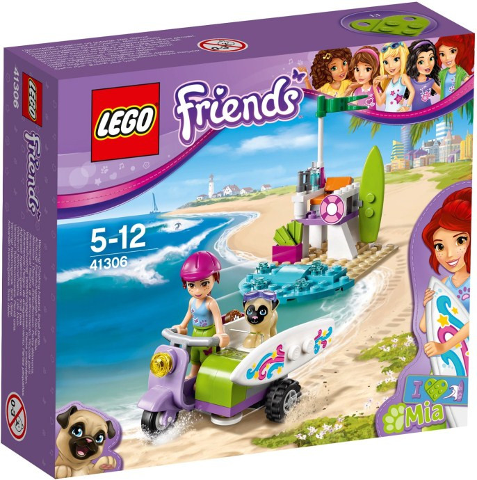 LEGO® Friends ПЛЯЖНЫЙ СКУТЕР МИИ 41306