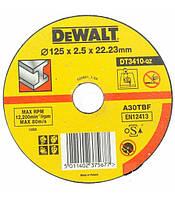 Круг отрезной по металлу 125x2.5x22.2мм DeWALT DT3410-QZ (США/Польша)
