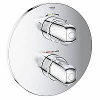 GROHE Grohtherm 1000 Термостат для ванны со встроенным переключателем на 2 полож., скрыт. монтаж,хром 19986000