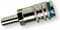 Быстроразъёмная стальная муфта с соединением для шланга 10 мм