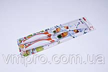 Набор ножей металлокерамика,ножи универсальные 2шт,23.5 см и 19 см.