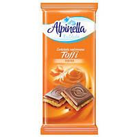 Польский шоколад Alpinella с начинкой Тоффи 90г
