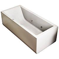 Ванна JACUZZI LAGOON 180x80х57 правосторонняя (гидромассаж, сифон, передняя и боковая панель) RH9443819A