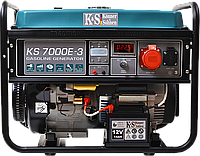 Бензиновая электростанция konner&sohnen ks 7000e-3