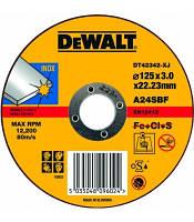 Круг отрезной по металлу INOX DeWALT DT42342 (США/Словения)