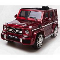 Детский электромобиль Mercedes G63 AMG (красный)