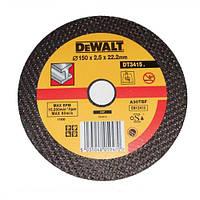 Круг отрезной по металлу DeWALT DT3415-QZ (США/Тайвань)
