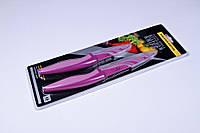 Набор ножей металлокерамика,ножи универсальные антибактериальные 2 шт,23.5 см и 19 см., фото 1