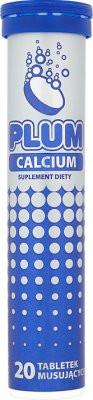 Витамины Kruger 20шт. PLUM Calcium