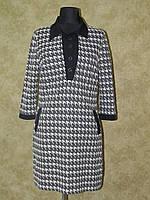 Платье - туника с воротничком