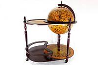 Глобус бар со столиком 420 мм- Континент