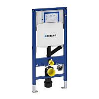 GEBERIT Duofix Монтажный элемент для подвесного унитаза,с соединением для удаления запахов, с фронтальным управлением, для 111.370.00.5