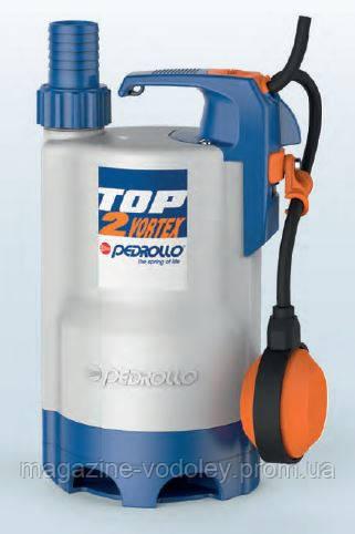 Дренажный насос TOP2  VORTEX для загрязненной воды