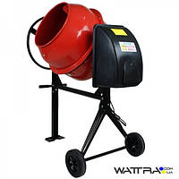 ⭐ Бетономешалка FORTE EW8160P, бак 160л, смесь 120л, 650Вт, вес 60 кг, упаковка 840X730X440