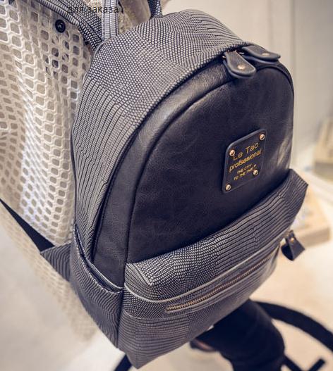 Элегантный женский рюкзак из кожзама