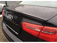 Спойлер сабля тюнинг Audi A6 C7
