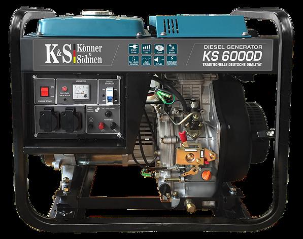 Дизельный генератор Konner&Sohnen KS 6000D, фото 2