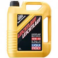 Полусинтетическое моторное масло LIQUI MOLY LEICHTLAUF 10W-40 5Л (Бесплатная доставка)
