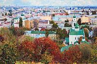 Панорама Подола. Киев