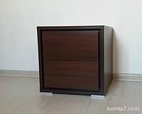 Прикроватная тумба Милано, Ш400мм, Бук тироль шоколадный (3)