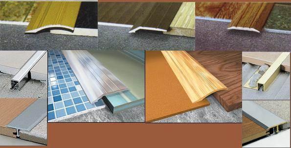 Пороги і плитки для підлоги