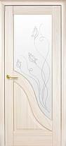 Межкомнатные двери Амата со стеклом, фото 3