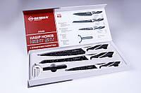 Набор ножей металлокерамика Besser №10146,ножи универсальные антибактериальные 4 шт/набор, фото 1