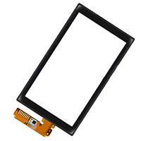 Сенсор (тачскрин) для Sony Ericsson Aino U10 черный