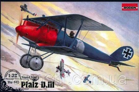 Pfalz D.III 1/32 RODEN 613