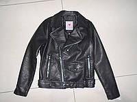 Куртка кожаная на девочку , Glo-story,134-164 ( розница)