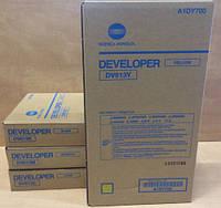Девелопер DV-613 Cyan/ синий Konica Minolta Bizhub PRESS C8000