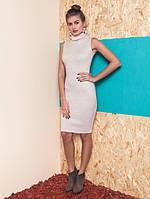 Женское трикотажное платье без рукавов Felina (разные цвета)