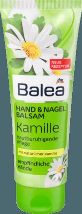 Крем для рук и ногтей Balea Kamille, 100 ml.
