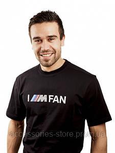 Мужская футболка BMW Men's 'I'M FAN' T-Shirt Motorsport Black