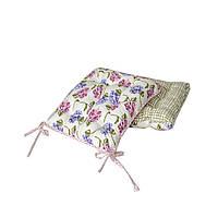Подушка на стул Оливкова клітинка 40х40см ТМ Прованс # Andre Tan, фото 1