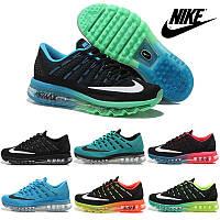 Кроссовки женские/мужские беговые Найк Nike Air Max 2016 (много цветов)