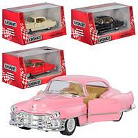 "Машина метал. ""Kinsmart"" ""Cadillac Series 62 Coupe 1953"" в кор. 16*8,5*7,5см /96шт/4/(KT5339W)"