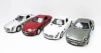 "Машина метал. ""Kinsmart"" ""Mercedes-Bens SLS AMG"" в кор. 16*8,5*7,5см /96шт/4/(KT5349W)"