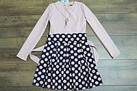 Нарядное платье для девочек 140- 164 рост