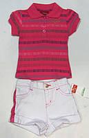 Комплект (футболка.+шорты) для девочек US Pollo