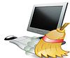 Ремонт компьютера,компьютер тормозит, чистка компьютера от пыли, замена  термопасты