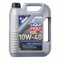 Полусинтетическое моторное масло LIQUI MOLY MOS2-LEICHTLAUF 10W-40 5Л