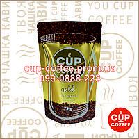 """Кофе сублимированный """"Cup-Coffee"""" GOLD 75гр."""
