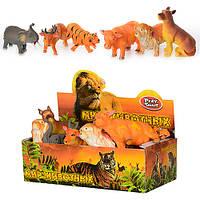 Животные дикие, 6 видов, в кор. 28*15*9см (36*12=432шт)(7215)