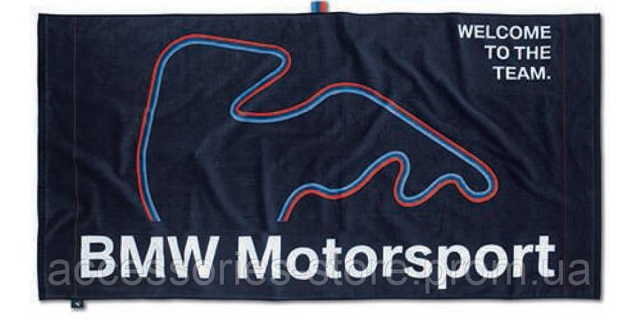 Пляжное полотенце BMW Motorsport Beach Towel Dark Blue