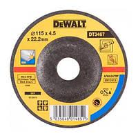 Шлифкруг по металлу вогнутый INOX DeWALT DT3467-QZ (США/Тайвань)