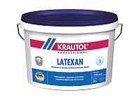 Краска латексная шелковисто-матовая стойкая к истиранию  Krautol Latexan, 10 л (база А)